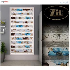پرده زبرا زیو کد 55 سایز 180 × 160 سانتی متر